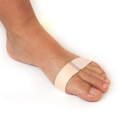 Gel and Fabric Metatarsal Wraps Velcro Closure