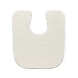 U-Shaped Pads - Felt - 1/4 inch (100 per package)