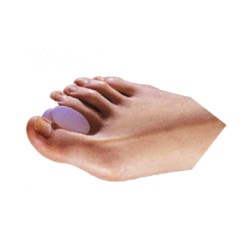 Gel Toe Spreader - Hourglass Shaped
