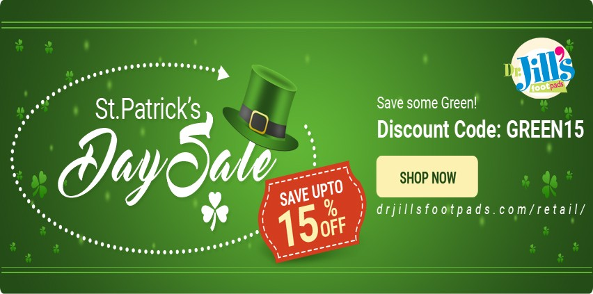 St. Patrick Day Sale 15% off all orders