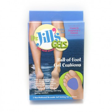 Ball-Of-Foot Met Pads - Purple Gel