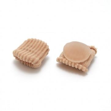 Gel Corn Pads - Gel and Fabric - Silipos - bag of 12