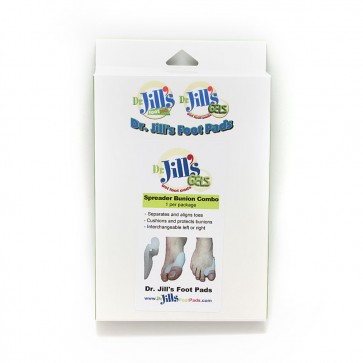 Toe Spreader With Bunion Guard Combo Pad - Gel