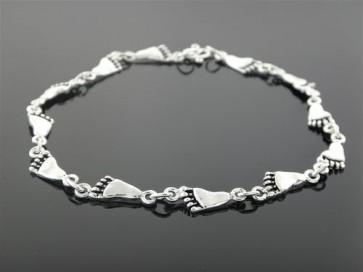 Anklet - Sterling Silver Foot Link