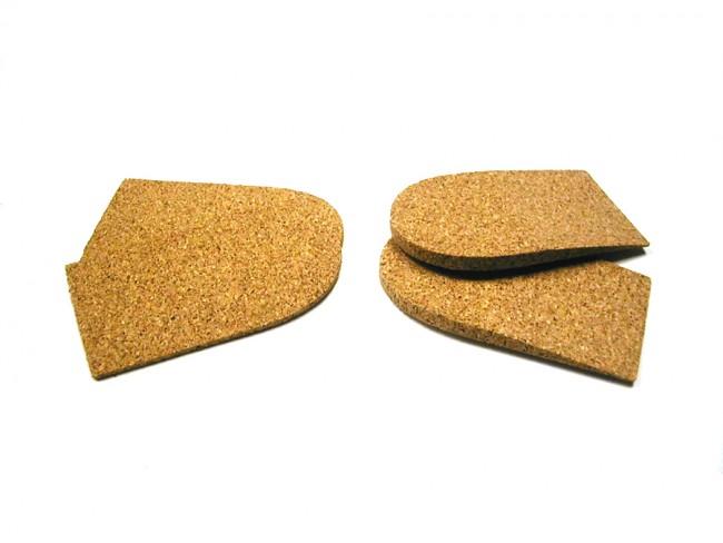 heel pads lifts cork lifts