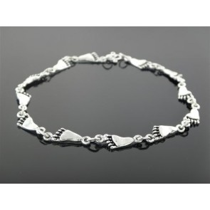 Anklet - Sterling Silver Foot Link
